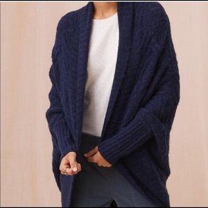 LOFT Lou & Grey Wavestitch Cocoon Cardigan Sweater